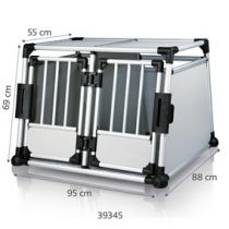 Trixie | Transportbox doppelt Aluminium