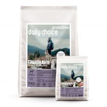Aktion: 1,5kg daily choice Grainfree Trockenfutter gratis