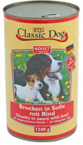 Classic Dog | Adult - Brocken in Soße Rind