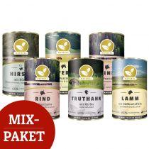 Hundeland Natural | Nassfutter Mixpaket