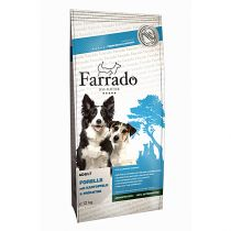Farrado   Forelle mit Erbsen & Kartoffeln