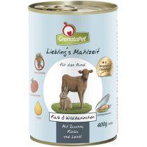GranataPet | Liebling's Mahlzeit Kalb & Wildkaninchen