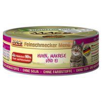 MACs | Feinschmecker Huhn, Makrele und Ei