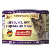 MACs | Feinschmecker Kaninchen, Wild, Ente, Haferflocken und Gemüse