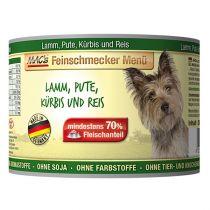 MACs | Feinschmecker Lamm, Pute mit Kürbis und Reis