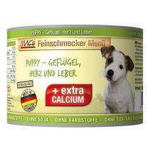 MACs | Feinschmecker Puppy-Geflügel, Herz und Leber