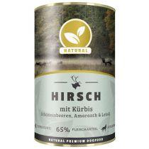 Natural | Hirsch mit Kürbis