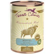 Terra Canis | Büffel mit Hirse, Tomaten & Papaya