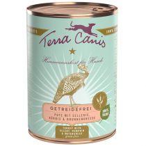 Terra Canis | getreidefrei Pute mit Sellerie, Kürbis und Brunnenkresse