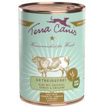 Terra Canis | getreidefrei Rind mit Zucchini, Kürbis und Oregano