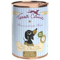 Terra Canis | Geflügel mit Kürbis, Kamille und Blütenpollen