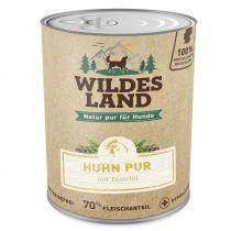 Wildes Land | Huhn PUR mit Distelöl (getreidefrei)