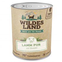 Wildes Land | Lamm PUR mit Distelöl (getreidefrei)