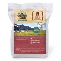 Wildes Land - Trockenfutter - Rind mit Kartoffeln und Wildkräutern (getreidefrei)