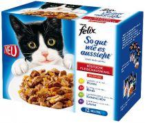 Felix Portionsbeutel Multipack So gut wie es aussieht Fleisch 6 x 12 x 100 g
