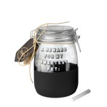 Europet Bernina | D&D Elegance Glass Coockie Jar transparent