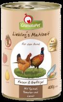 GranataPet | Liebling's Mahlzeit Fasan und Geflügel
