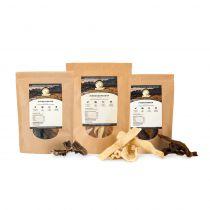 Hundeland Natural | Snackpaket 2 x 300g + 1 x 150g