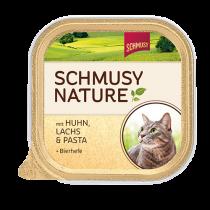 Schmusy | Nature mit Huhn, Lachs & Pasta