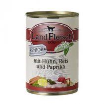 LandFleisch | Senior mit Geflügel, Reis und Paprika