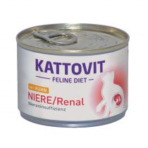 Kattovit | Feline Diet NIERE/Renal mit Huhn