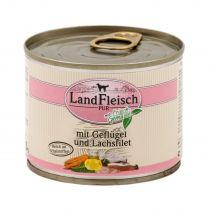 LandFleisch | Pur Geflügel & Lachsfilet