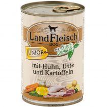 LandFleisch | Junior mit Huhn, Ente und Kartoffeln