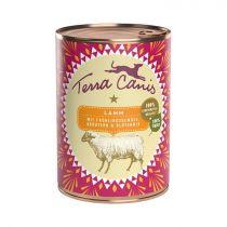 Terra Canis | Lamm mit Frühlingsgemüse, Kräutern und Blütenmix