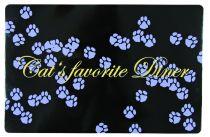 Trixie   Napfunterlage Cat's favourite Diner, lila