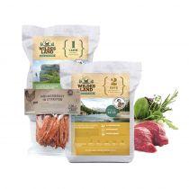 Wildes Land | Trockenfutter Sparpaket | 2 x 12 kg + Snack 250 g