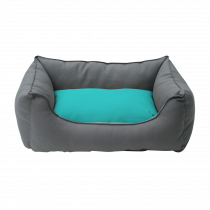 Wolters | Basic Dog Lounge anthrazit/aqua