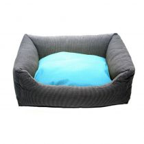 Wolters | Kuschel-Lounge Royal Dreams anthrazit/aqua