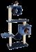 CAT DREAM | Kletterbaum Maxi blau | Sisal,Plüsch,blau 1