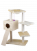 CAT DREAM | Kletterbaum Felix grau | Plüsch,Sisal,grau 1