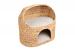 SILVIO DESIGN | Katzenhöhle Marvin natur | Naturgeflecht,beige 1