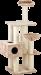 SILVIO DESIGN | Kletterbaum Abigal | Plüsch,Sisal,beige 1