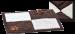 SILVIO DESIGN | Liegedecke Karo | Plüsch,braun,weiß 1