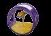 SILVIO DESIGN | Spielrad | Sisal,Plüsch,gelb,lila 1