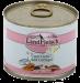 LandFleisch | Schlemmertopf Lachs & Geflügel | Glutenfrei,Fisch,Geflügel,Nassfutter,Dose 1