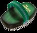 Hunter | Hundeschweifbürste oval Buche grün | grün 1