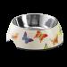 Hunter | Melanin-Napf Butterfly weiß | Edelstahl,weiß 1