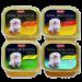 Animonda | Vom Feinsten Adult Mix 1 Megapack | Light,Mix,Lamm,Rind,Geflügel,Nassfutter,Schälchen 1