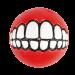 Rogz | Grinz-Ball zum Befüllen in Rot | Gummi,rot 1