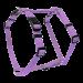 Wolters | Geschirr Basic in Flieder | Nylon,lila 1