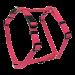 Wolters | Geschirr Basic in Rosé | Nylon,rosa 1