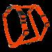 Wolters | Geschirr Basic in Orange | Nylon,orange 1