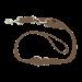 Wolters | Führleine Basic Standard in Nougat | Nylon,braun 1
