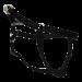 Wolters | Geschirr Basic One-Touch in Schwarz | Nylon,schwarz 1