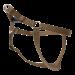 Wolters | Geschirr Basic One-Touch in Nougat | Nylon,braun 1