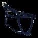 Wolters | Geschirr Basic One-Touch in Marine-Blau | Nylon,blau 1